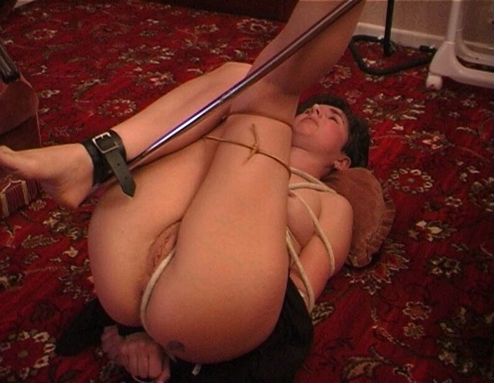 Tied up wife gets horny