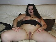 BBW lounging about wants to show you her tits and slit