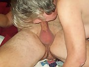 My wife Kayc sucking strange cock while I watch and video them