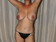 Enjoy my Turkish Wife from Istanbul natural big tits