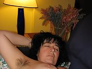Hairy mature woman loves to show her hairy pussy