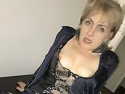 Caroline 40 yo polish mature mum-slut spreadud wide and hard fucked