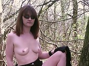Being outdoors gets mature women in the mood to play