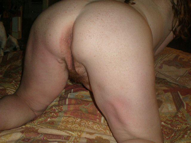 Wife shows her ass
