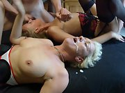 Another outrageous gangbang courtesy of always dirty chrisschantily