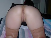 My wife bends over for me