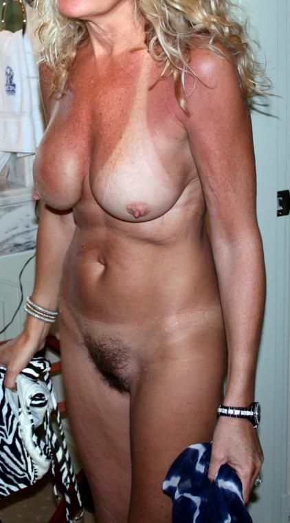 with nipples Milf hard