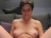 Chubby BBW Mature webslut outdoor dressed undressed
