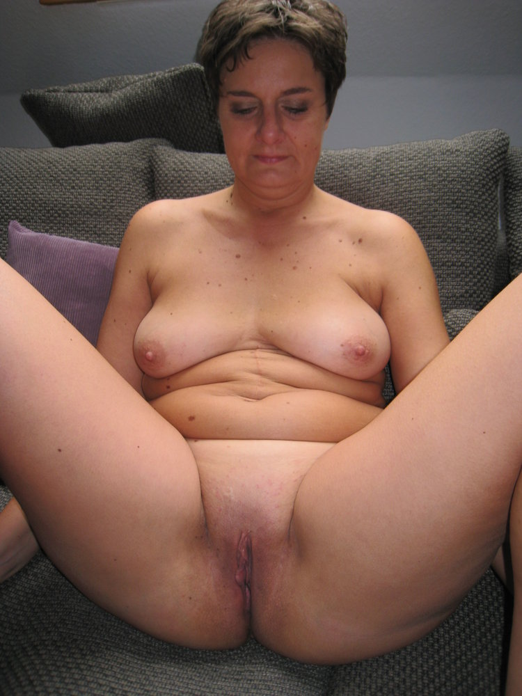 Mature fat dressed undressed for master