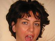Brunette Scottish Wife