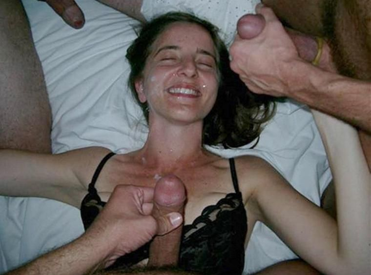 Amateur Wife Covered Cum