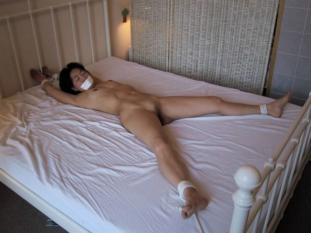 Naked babes tied to bed and fucked pics quite tempting
