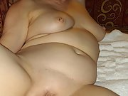 Bbw shows off all her sexy curves and big tits