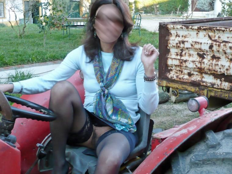 amateur sex in a tractors