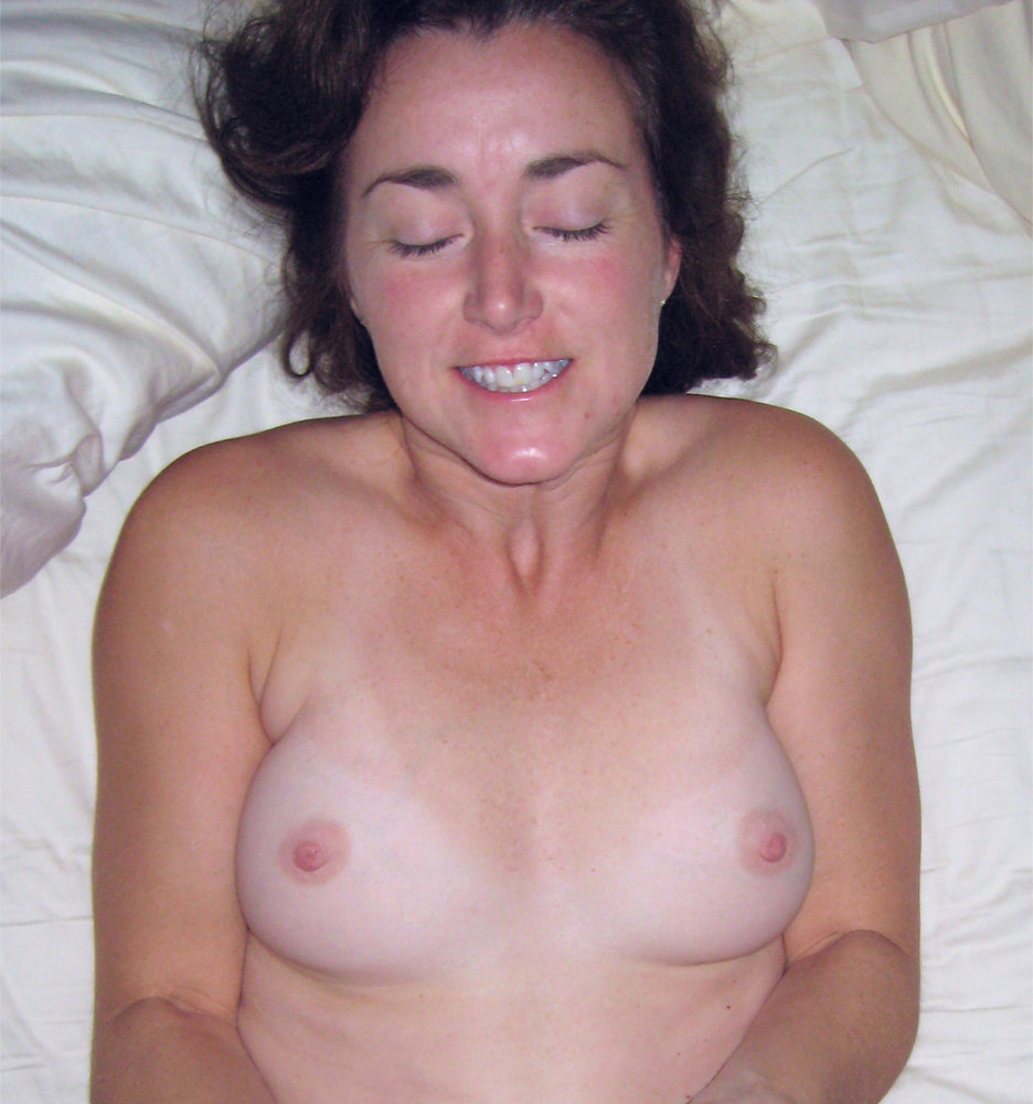 spirits fucking of a nude tanline brunette mature milf wife