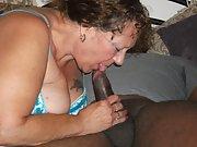 Mature BBW fukpig Marisa sucking meaty BBC and craving for cum