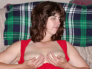 Bodacious Brunette Milf Exposed Revealing Bit Tits And Hairy Pussy