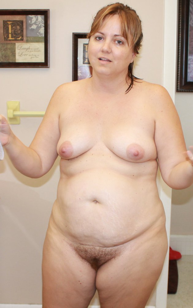 My chubby wife nude