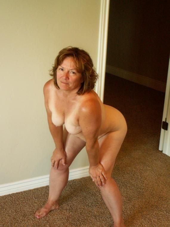 Nude around mom always house