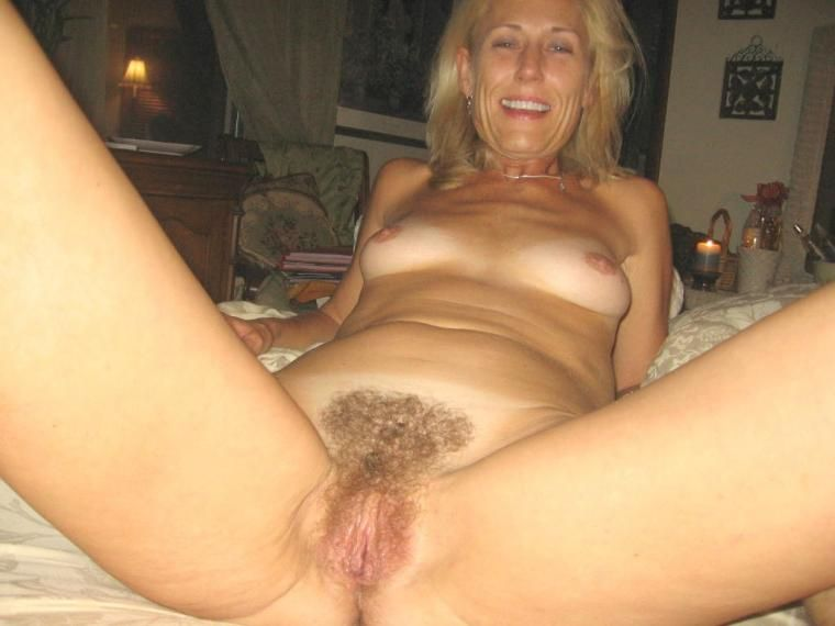 Thought hairy blonde wife naked