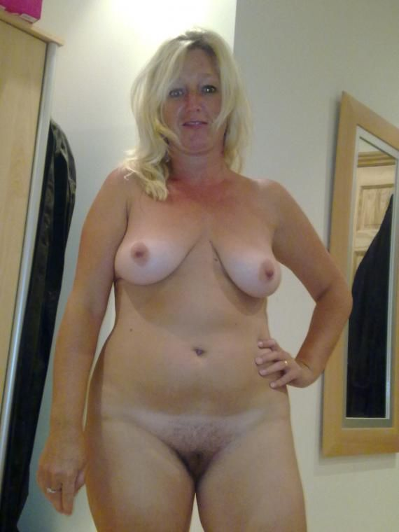 nude wives blonde Natural