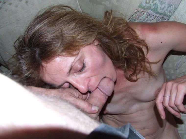 Wife blowjob and facial
