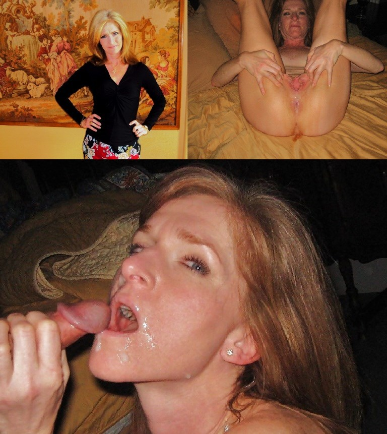 Latina hot wife sucking and facial