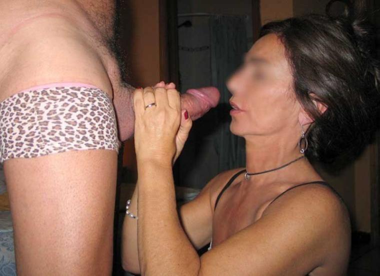 Wife caught husband masterbating while wearing panties