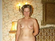 Mature milf shows off her body to get fucked