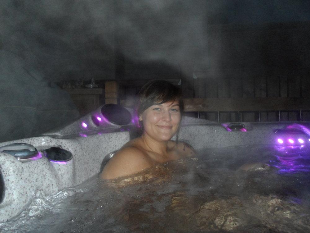 Calgary hot tub wife