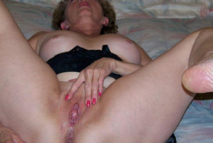 Hot Blonde Fingers Herself and Then Masturbates With
