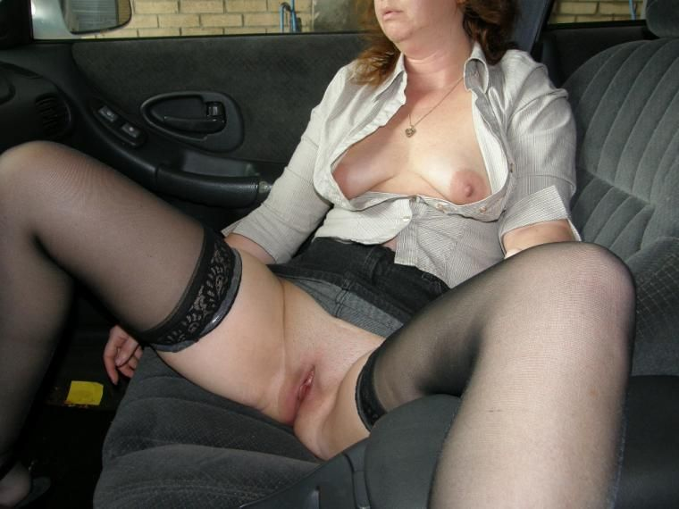 Showing Pussy In Car 118