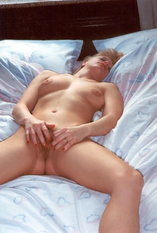 Wife Masterbating In Bed