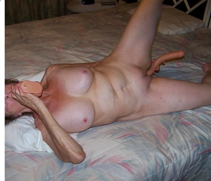 wife uses dildo