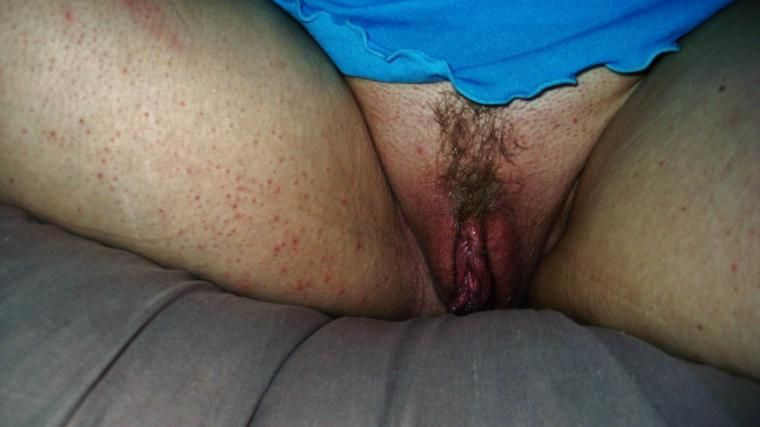 Wife showing creampie pussy excellent message