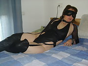 Masked wife ready for a hard sex, she likes it, for a hard sex night
