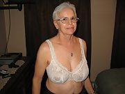 A Lovely Amateur Granny named Jeanne posing for your viewing pleasure