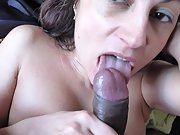 Girlfriend underneath me while she gives me a nice long blowjob