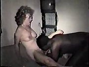 Mature white momma gets her first black dick on floor