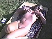 Yvonne naked outside on a cold day nipples get real hard