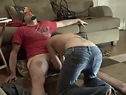 Cute brunette and her boy having hot amateur sex on the floor
