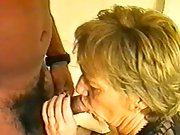 Horny white milf takes on a huge black tool and enjoys in swinger sex