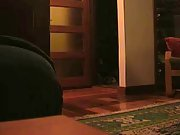 Mature mom and young dude having a hot sex session in her flat