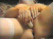 Playful big ass brunette dances naked and teases in bedroom